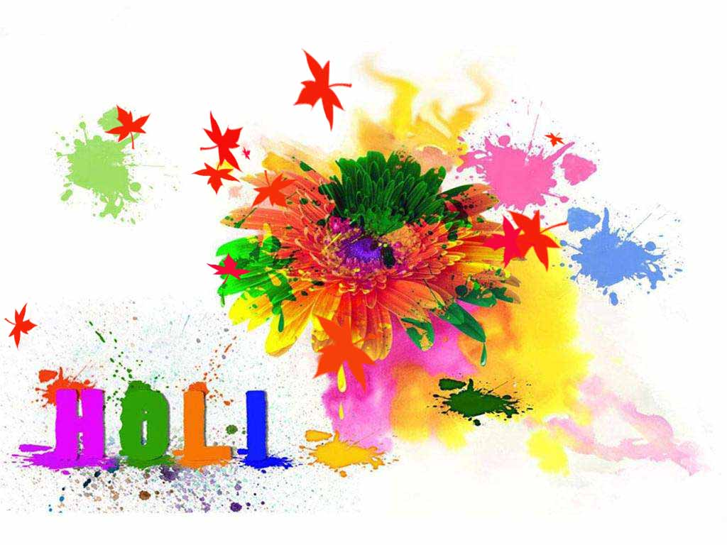 colorfull hd wallpaper for holi 2018