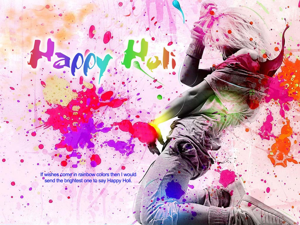 holi hai wallpaper for holi dhuleti 2018
