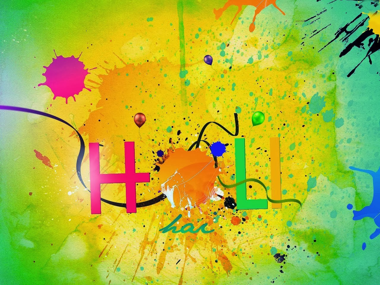colorfull hd wallpaper image for holi 2018
