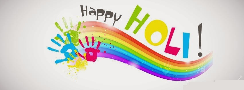 Happy holi 2016 facebook cover photo wallpaper image