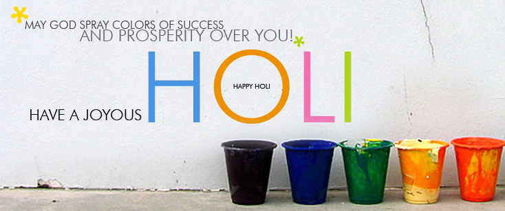 Facebook cover image for happy holi 2016