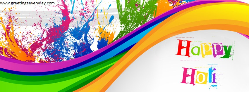 happy holi 2016 facebook cover photo images