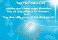 Ramdan Mubarak 2016 SMS Messages