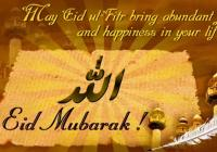 eid mubarak advance wishes quotes messages