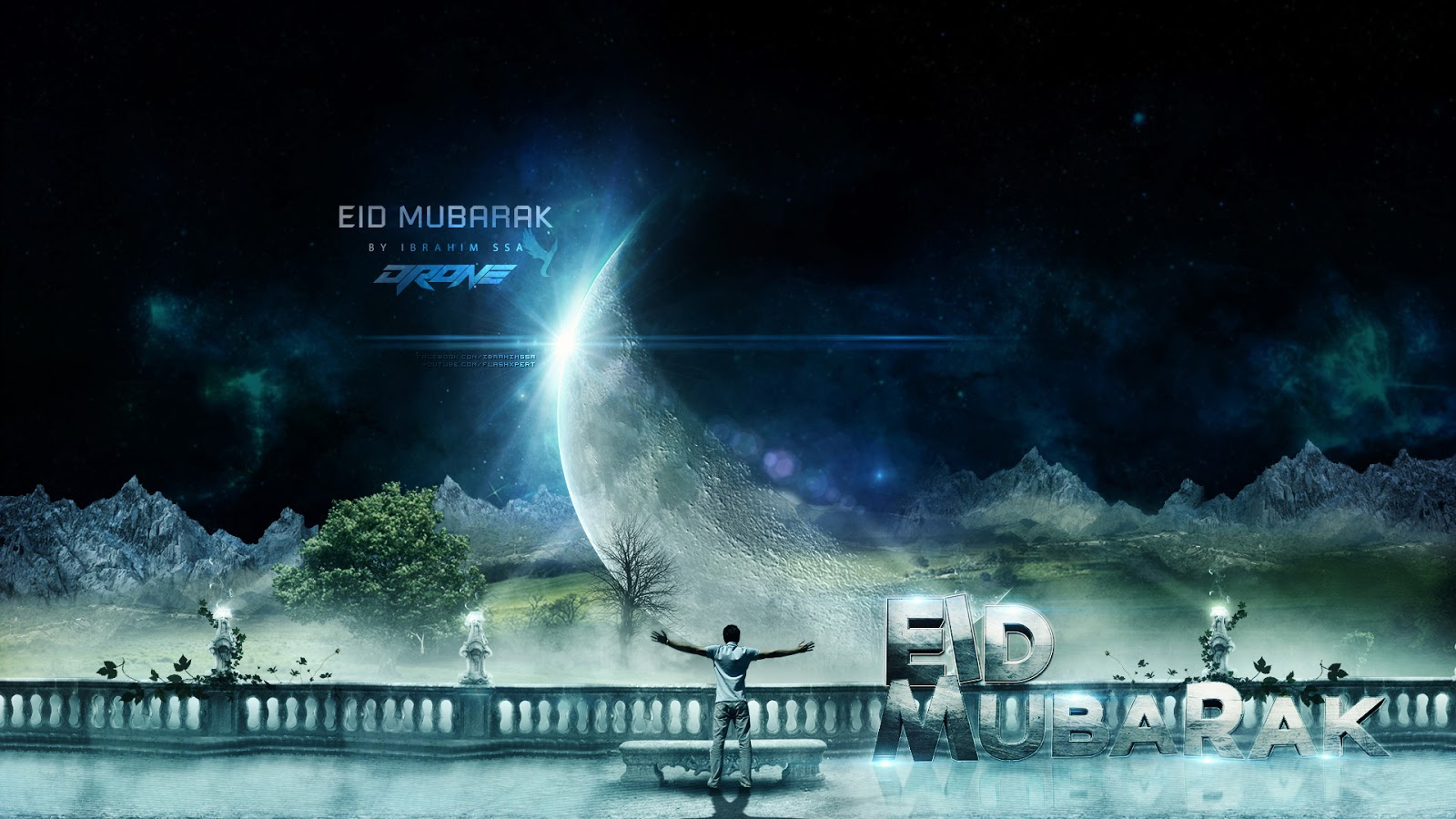 Eid Mubarak hd wallpaper pictures for family