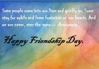happy friendship day 2016 sms messages in english