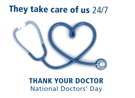 National Doctors Day 2017 Image free download