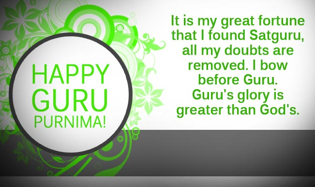 Guru Purnima Advance Wishes
