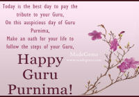 happy guru Purnima WhatsApp status in English