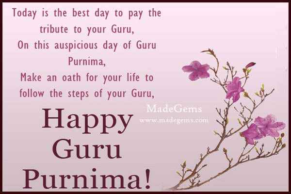 Guru Purnima WhatsApp Status in English