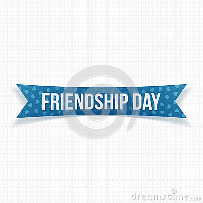 Friendship Day 2019 Ribbon