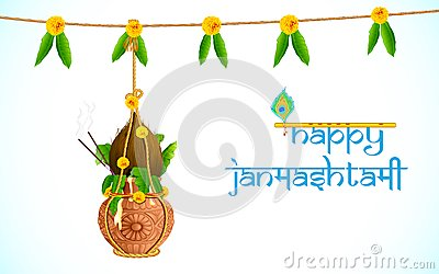 Happy Dahi Handi Greeting Cards Ecard Image Picture with best Wishes (1)