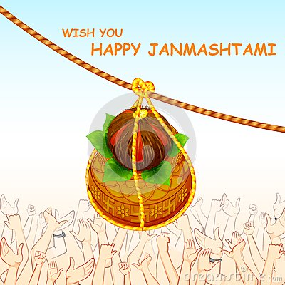 Happy Dahi Handi Greeting Cards Ecard Image Picture with best Wishes (2)