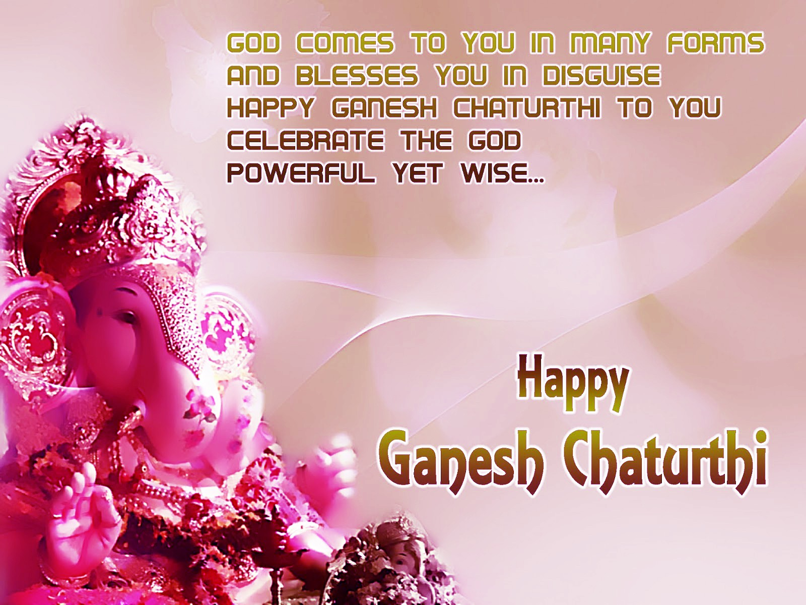 Happy Ganesh Chaturthi Greetings Cards Images Photos Quotes in English