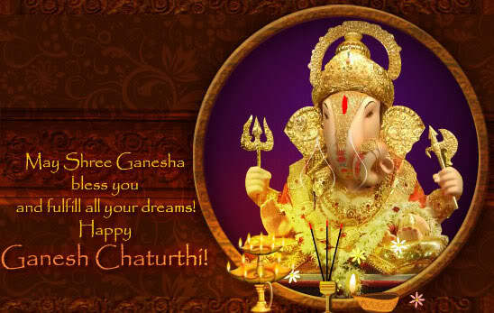 Ganesh Chaturthi Wishes Animated Greetings Cards Images Pictures