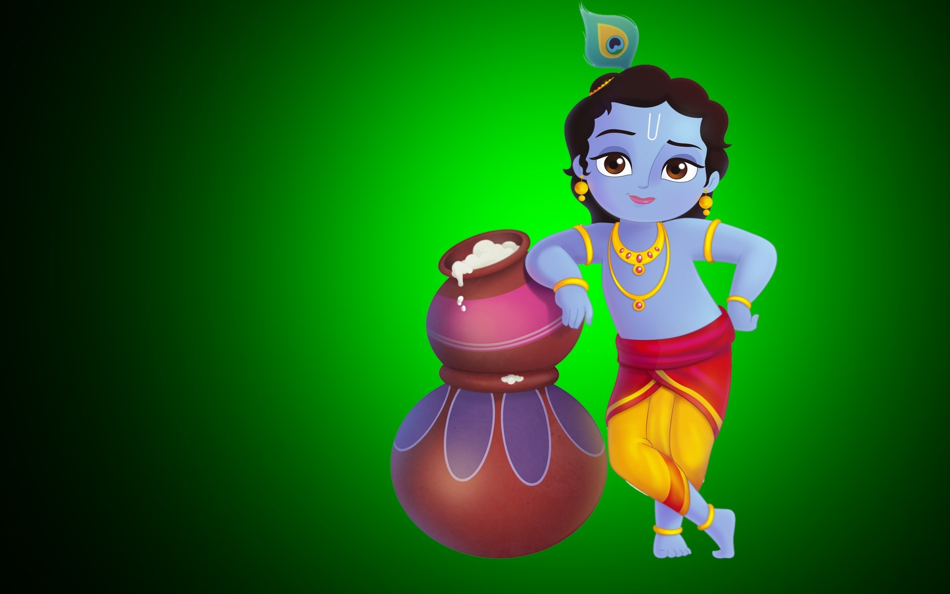 Happy krishna janmashtami hd cover picture for facebook - Cute cartoon hd images ...