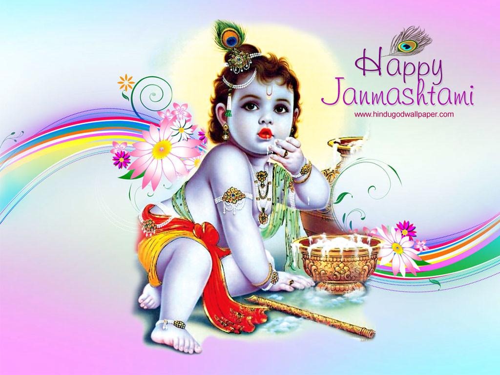 Happy Krishna Janmashtami WhatsApp Dp & Facebook Profile Picture (3)