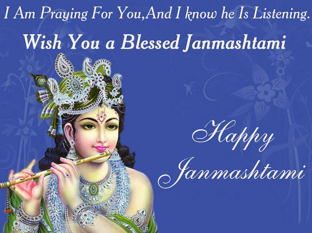 Happy Krishna Janmashtami Wishes Pictures for Facebook