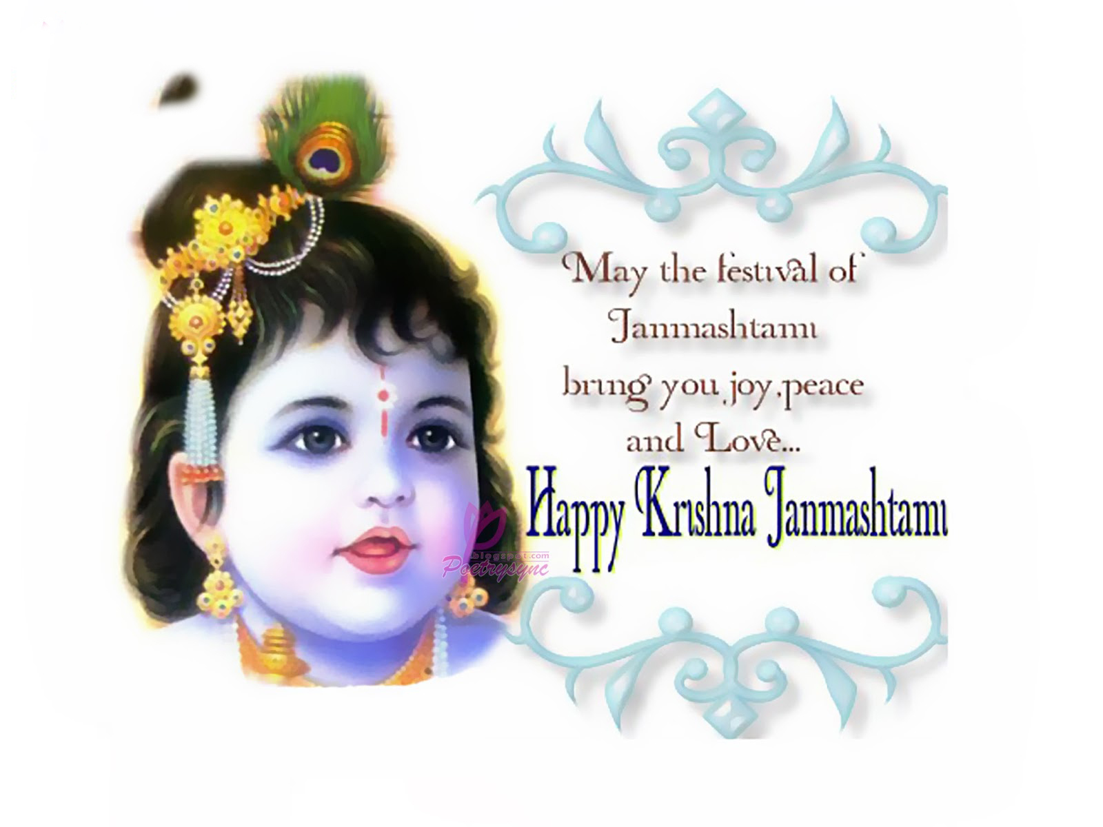 Happy Krishna Janmashtami 2016 Greetings Wishes Video for WhatsApp
