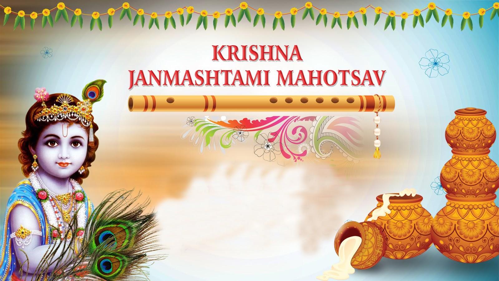 Happy Krishna Janmashtami Wishes Images for WhatsApp