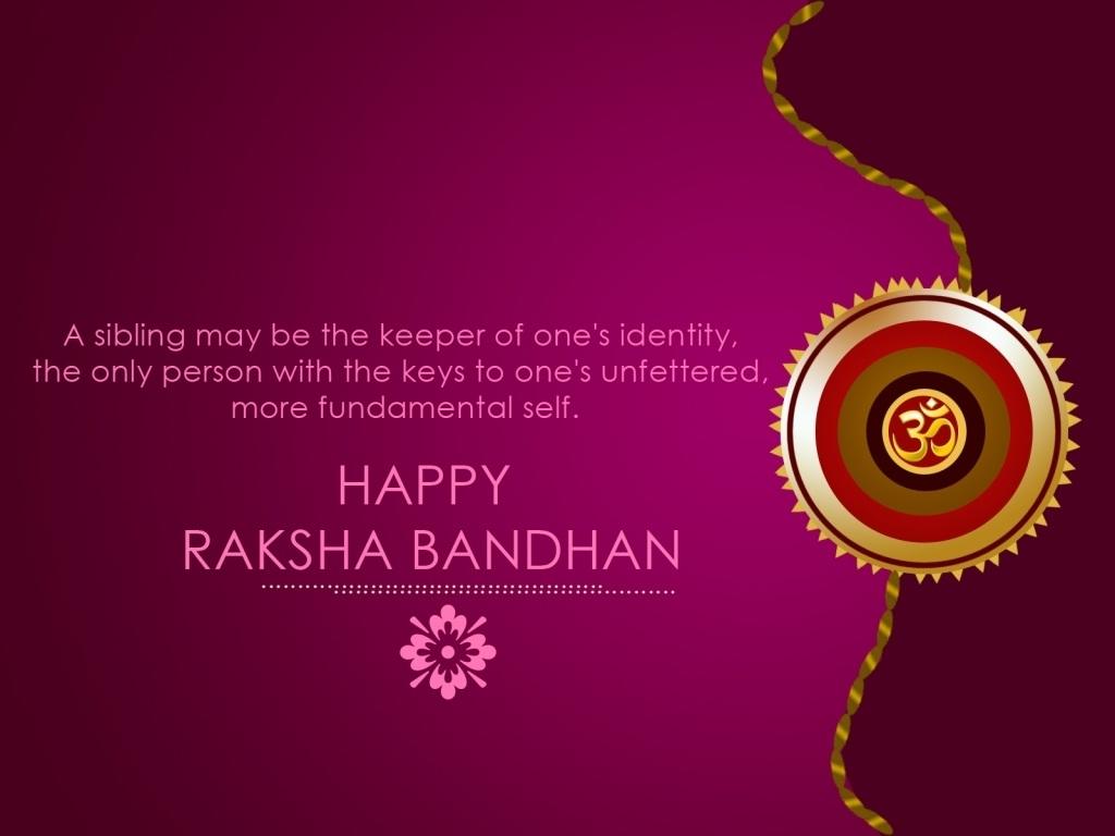 Download Happy Raksha Bandhan HD Wallpaper