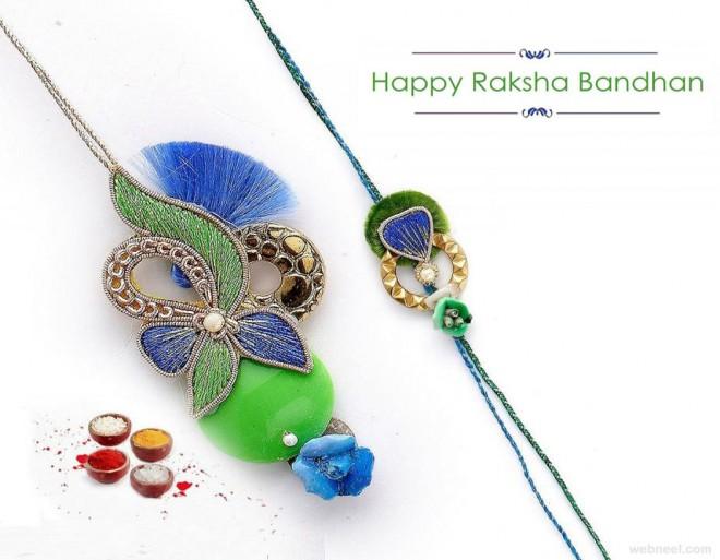 Happy Raksha Bandhan 2018 Hd Wallpaper Cover Photos Images