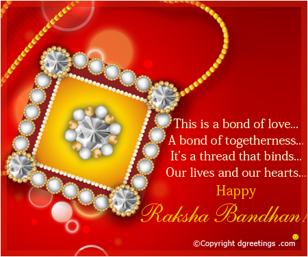 Raksha Bandhan Greetings Cards in English