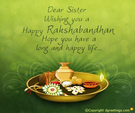 Happy Raksha Bandhan Greetings Card Images Pictures Photos in English