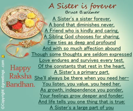 Happy Raksha Bandhan Images in English