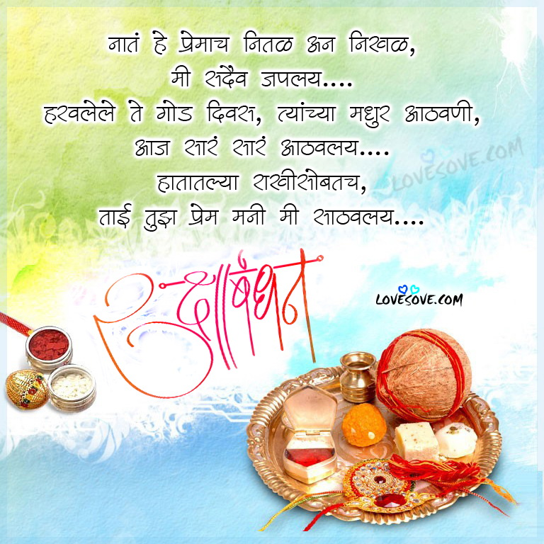Download Happy Raksha Bandhan Greetings Cards & Ecards in Marathi & Telugu