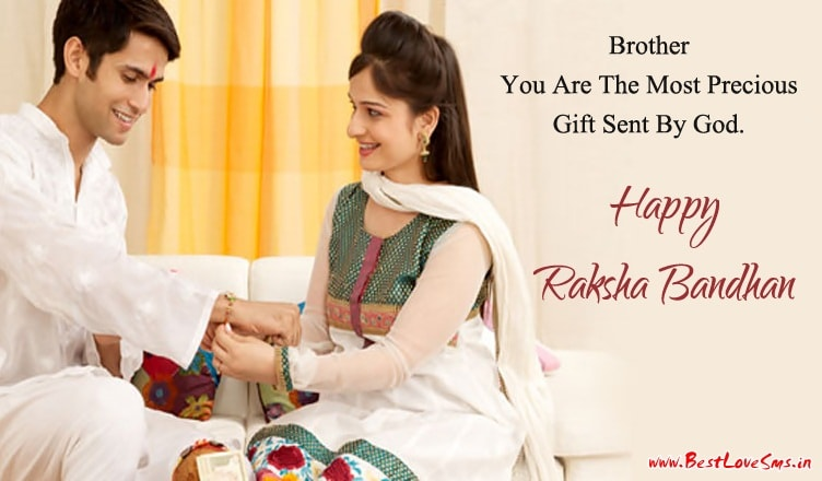 Happy Raksha Bandhan SMS in English For Sisters & Brothers