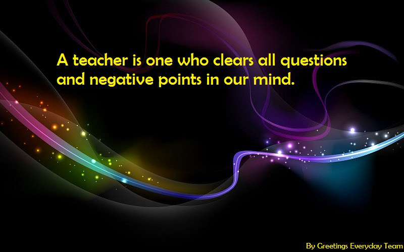 Happy Teacher's Day Slogans With Best Wishes For Teacher's