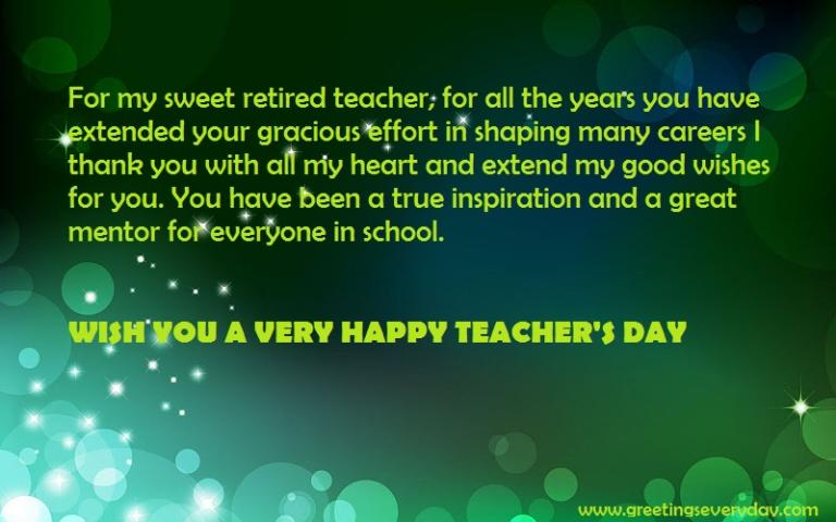 very short essay on teachers day Very usefull for homework and very well done lakshya , september 4, 2017 at 10:15 pm very simple must be extended not given much information.