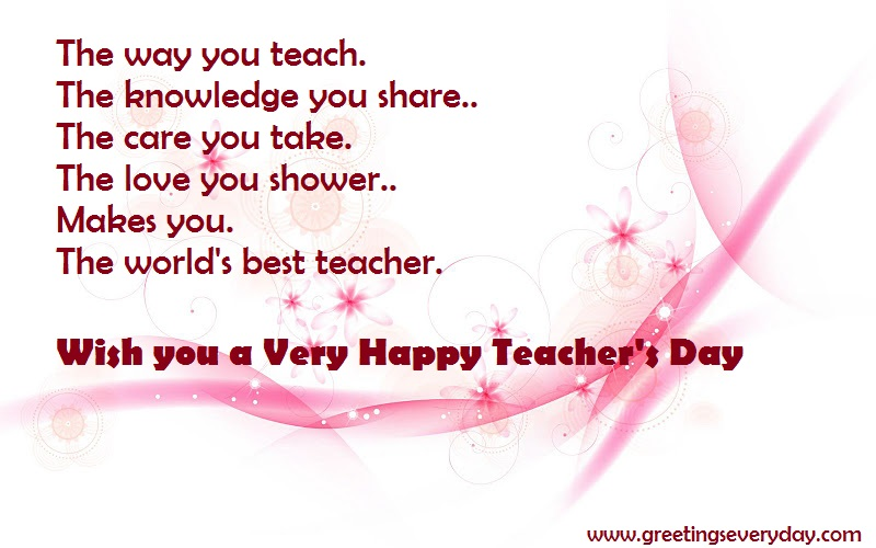 Happy Teacher's Day Speech & Essay in Malayalam, Marathi, Urdu
