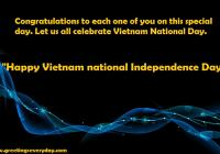 Happy Vietnam National Independence Day WhatsApp & Facebook Status