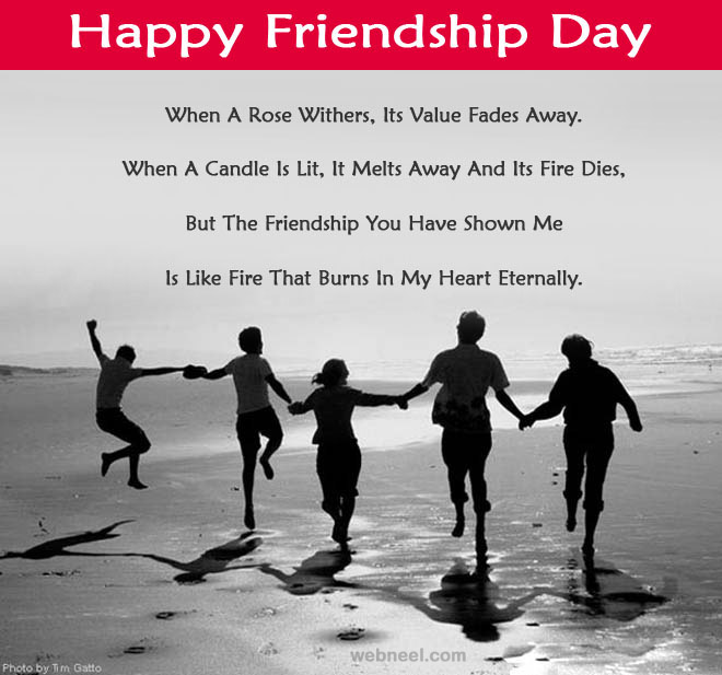 friendship day image with quotes