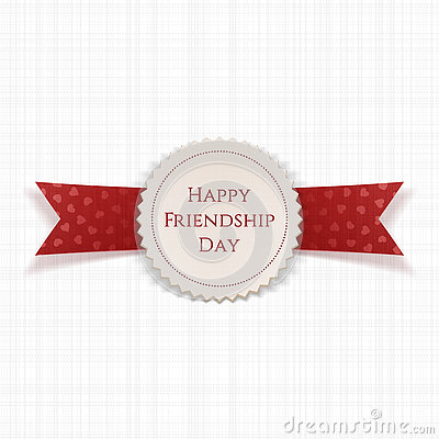 Friendship day 2019 badge
