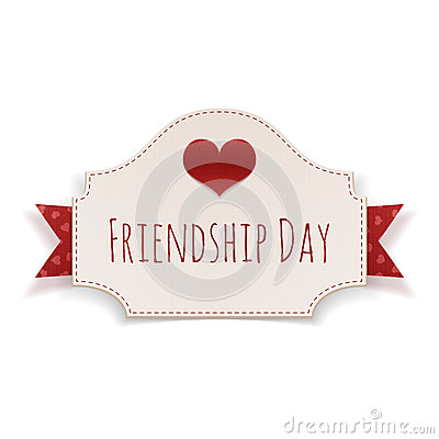 Friendship day 2016 badge