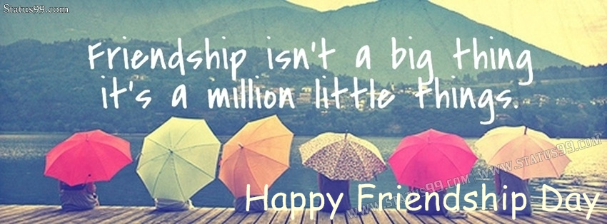Happy Friendship Day 2019 Facebook Cover Pictures