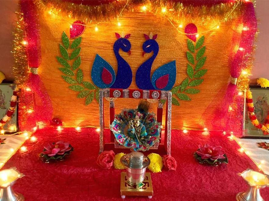 Wonderful Office Reception Eid Al-Fitr Decorations - Krishna-Janmashtami-Celebration-Decoration-Ideas-1  Best Photo Reference_151168 .jpg