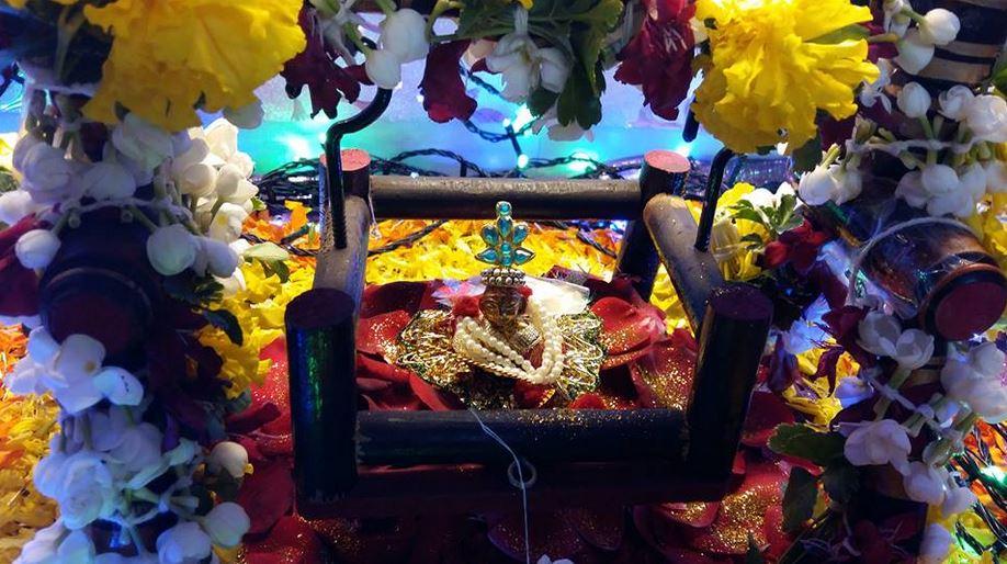 Krishna Janmashtami/ Jayanthi/ Gokul Ashtami Celebration Decoration Ideas for Temple