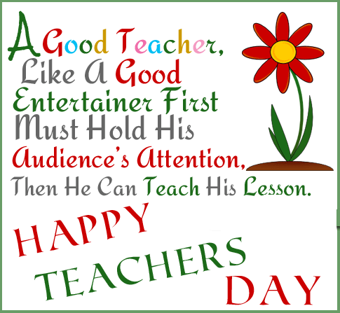 Teacher's Day 2016 Greeting Card Image Picture Photo Wishes in English (1)