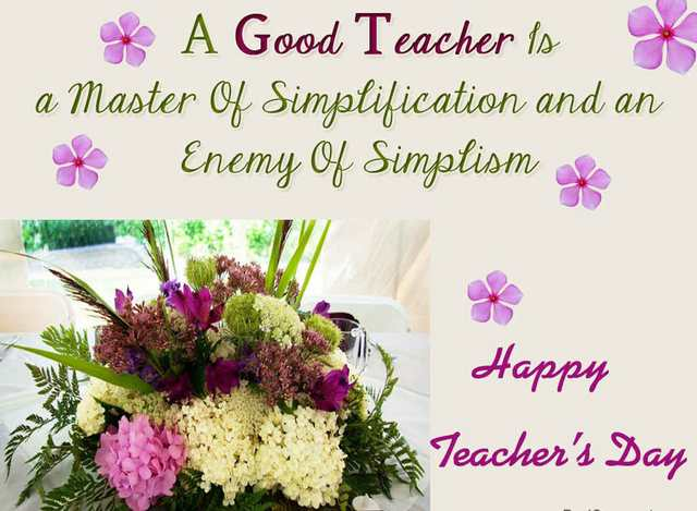 Best Happy Teacher's Day 2017 Photos With Best Wishes