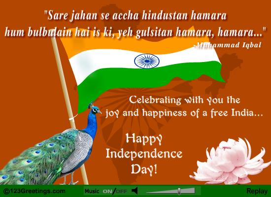 Happy 15th August/ Independence Day Poems & Quotes in English