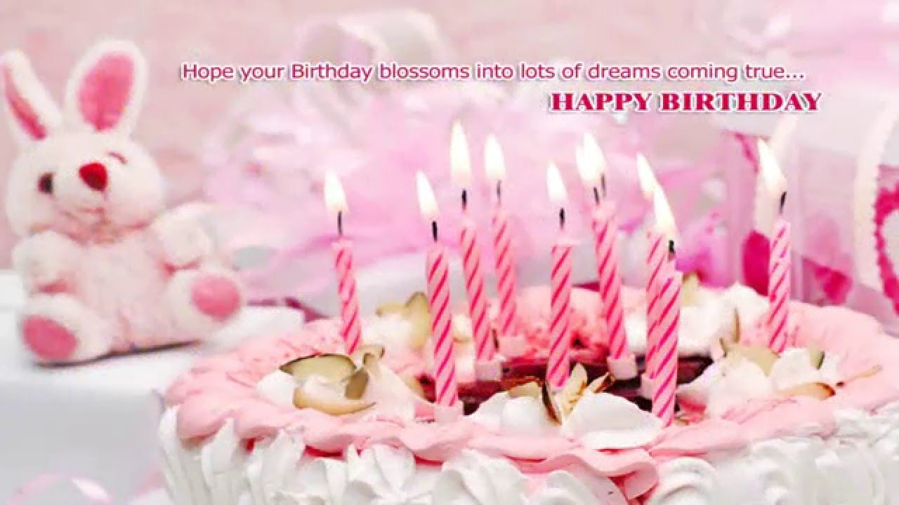 Birthday Wishes E Card Bioinformatics RD – Birthday Wish Greeting Images