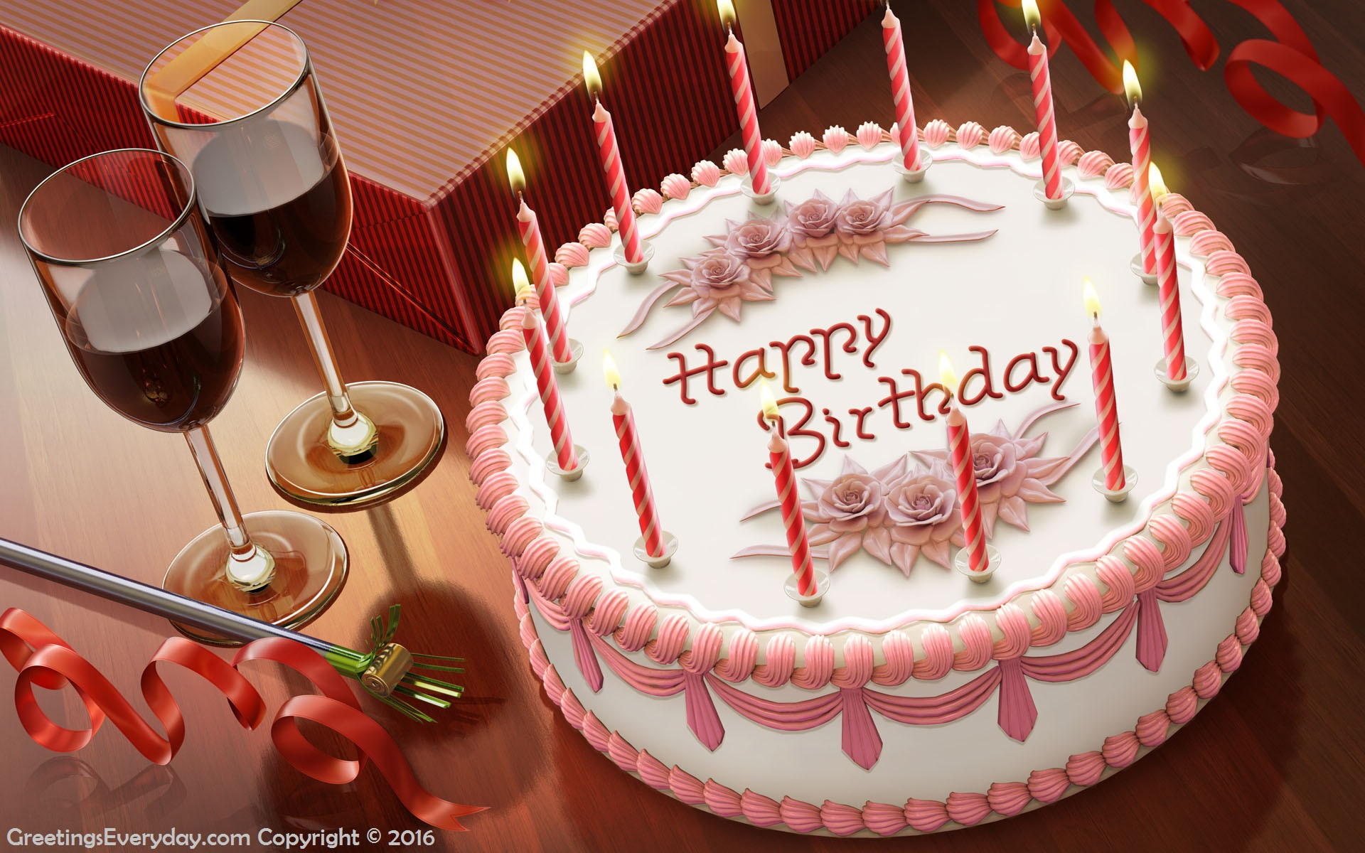 Download Free Happy Birthday Wishes HD Wallpapers