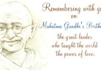 Happy Gandhi Jayanti Speech & Essay in Tamil, Telugu, Panjabi, Bengali & kannada
