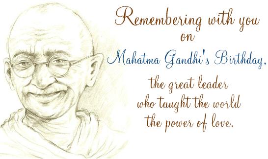 Happy Gandhi Jayanti Speech & Essay in Tamil, Telugu