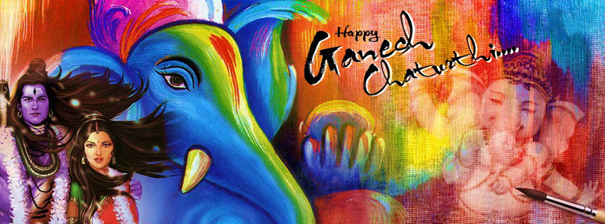 Download Happy Ganesh Chaturthi Cover Photos For Google Plus