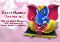 Happy Ganesh/ Vinayaka Chaturthi Wishes